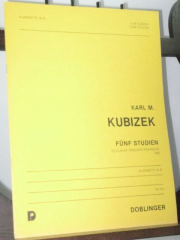Kubizek K M - 5 Studies on Claude Debussy's Rhapsodie